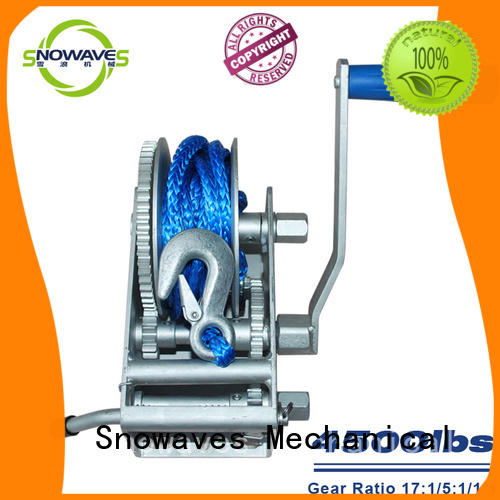 Snowaves Mechanical useful anchor winch for sale pulling for one-way trips