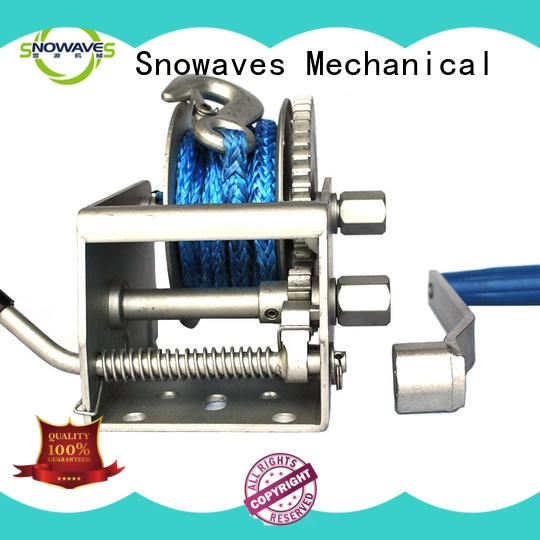 durable anchor winch for sale for trips Snowaves Mechanical
