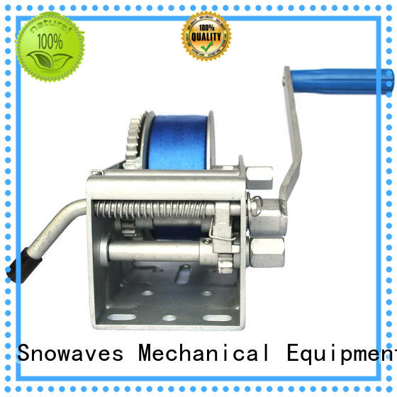 Trailer hand winch 15:1/4.5:1/1:1(3 speed) 1500kg pulling SW3300