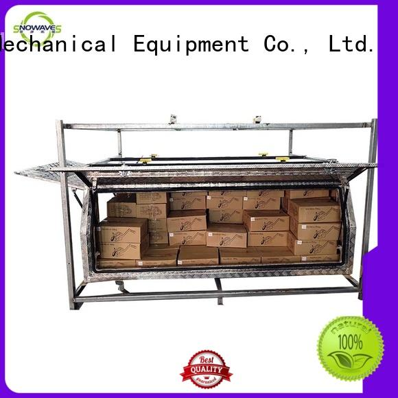 durable aluminum toolboxes Chinese manufacturer for camping Snowaves Mechanical