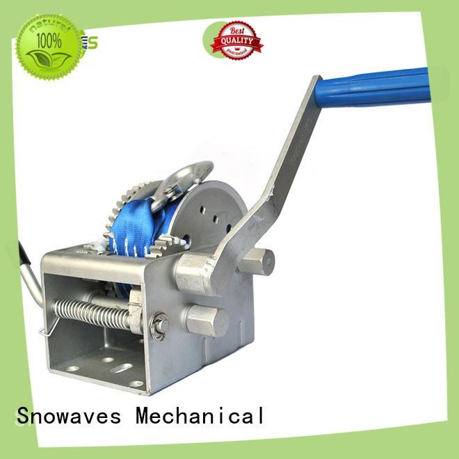 Snowaves Mechanical Custom Marine winch company for camping