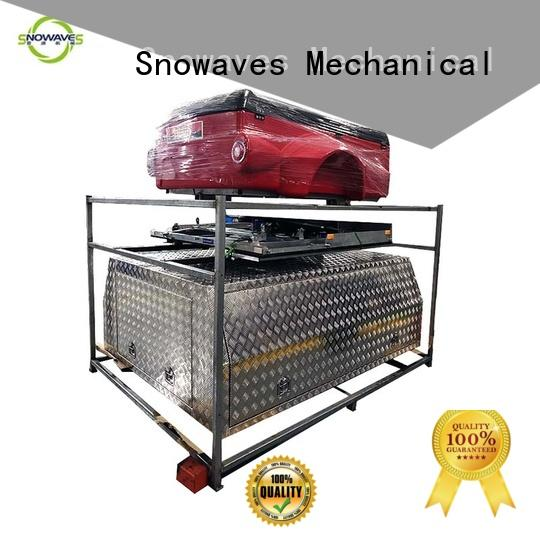 truck aluminum trailer tool box Chinese supply for camping Snowaves Mechanical