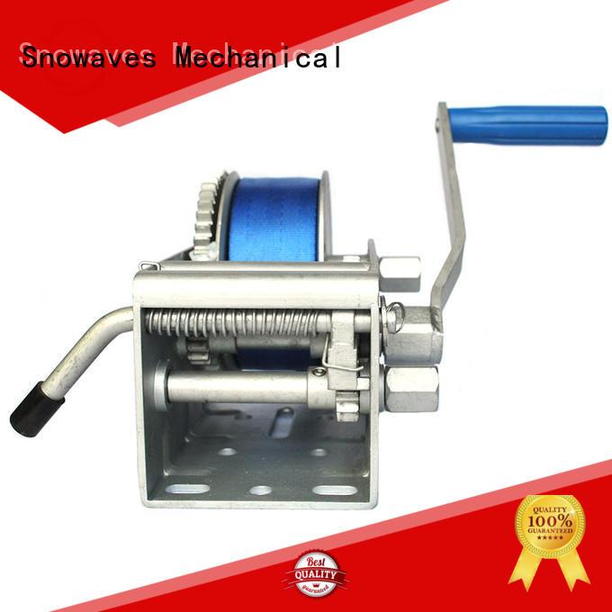 Snowaves Mechanical Custom marine winch factory for one-way trips