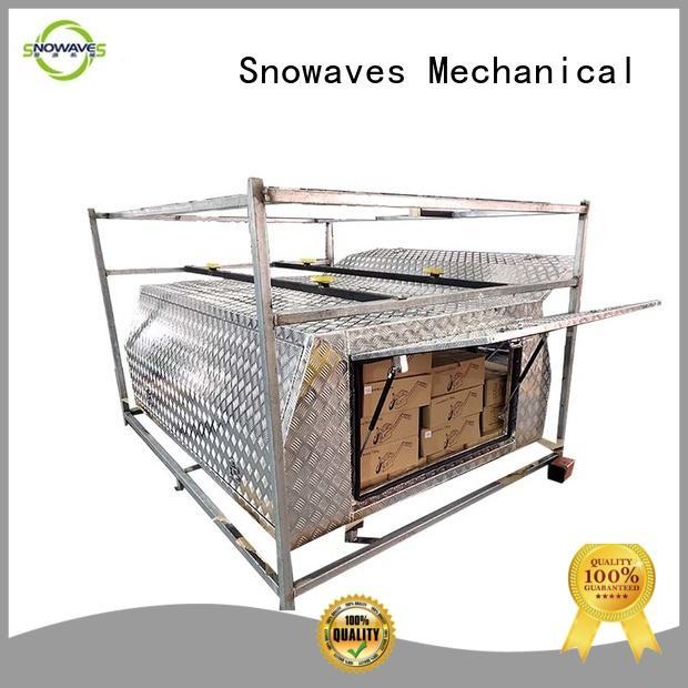 custom aluminum tool boxes aluminium for camping Snowaves Mechanical