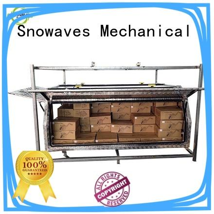 aluminium tool boxes for caravans truck Snowaves Mechanical Brand aluminum truck tool boxes