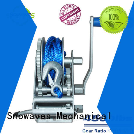 Snowaves Mechanical pulling Marine winch manufacturers for camping
