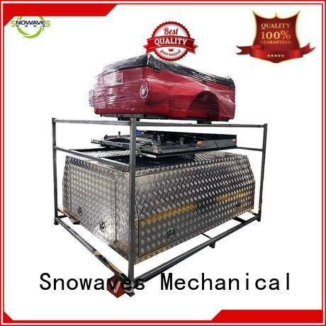 Snowaves Mechanical Top custom aluminum tool boxes manufacturers for camping