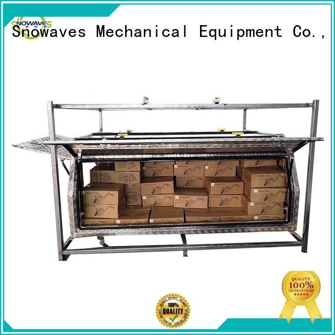 Snowaves Mechanical tool small aluminium tool box Chinese supply for picnics
