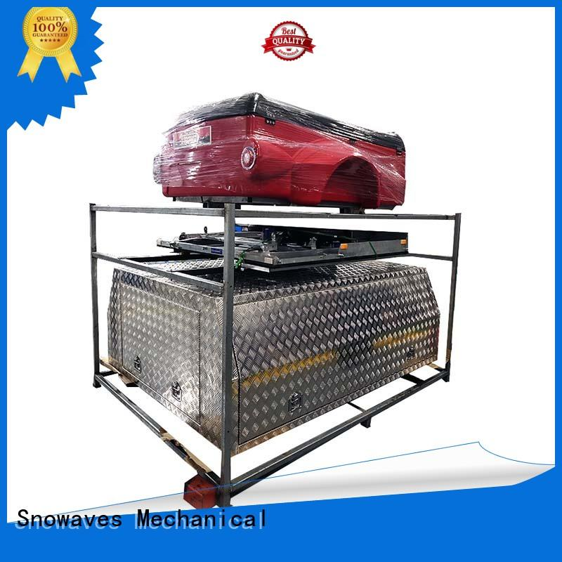 Snowaves Mechanical hot-selling large aluminium tool boxes pickup for camping