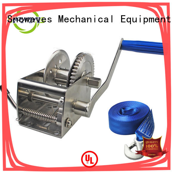 Snowaves Mechanical speed Marine winch company for trips