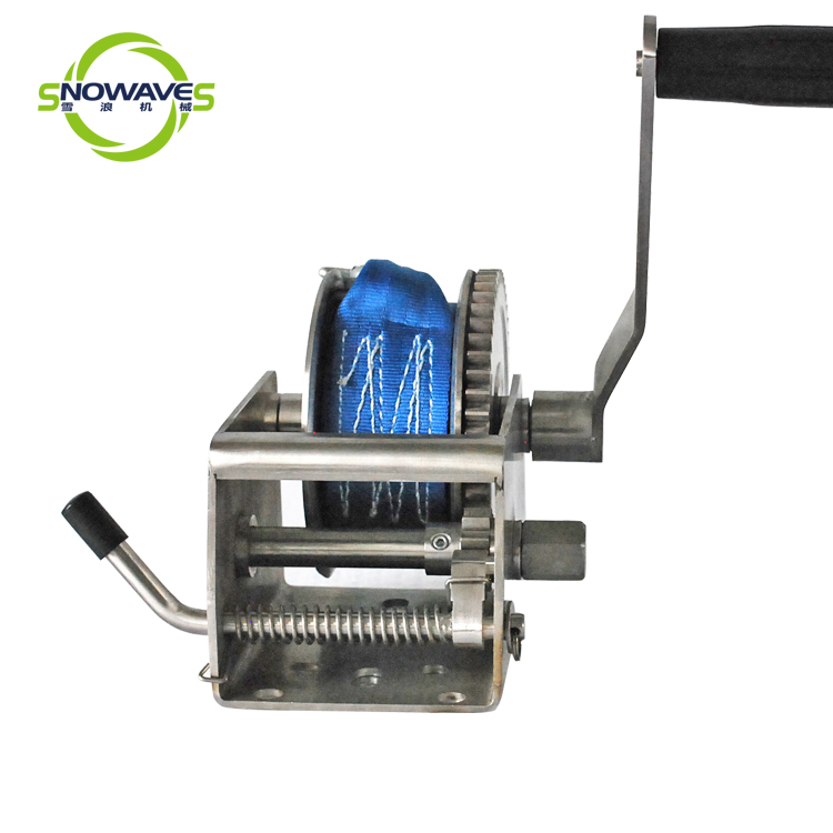 Snowaves Mechanical marine winch for business for trips-1