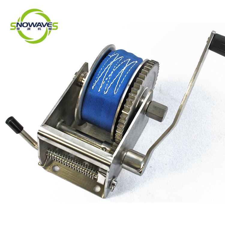 Snowaves Mechanical marine winch for business for trips-2