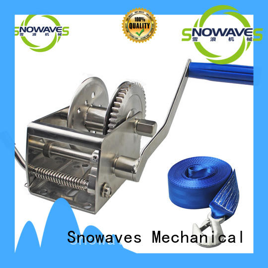 Latest marine winch winch manufacturers for camp
