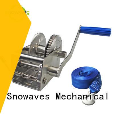 Snowaves Mechanical single Marine winch company for trips