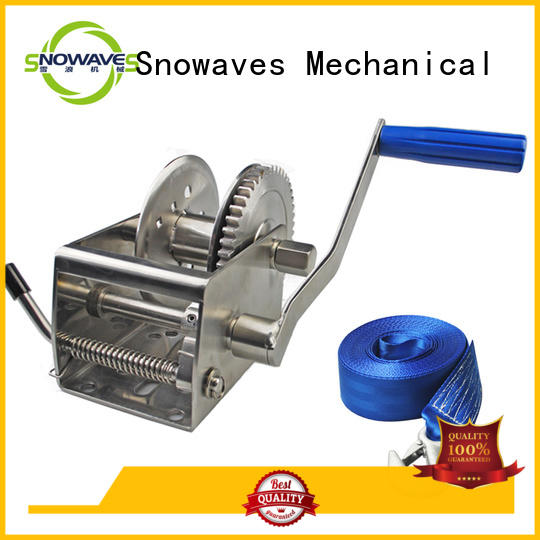 Snowaves Mechanical Latest marine winch manufacturers for one-way trips